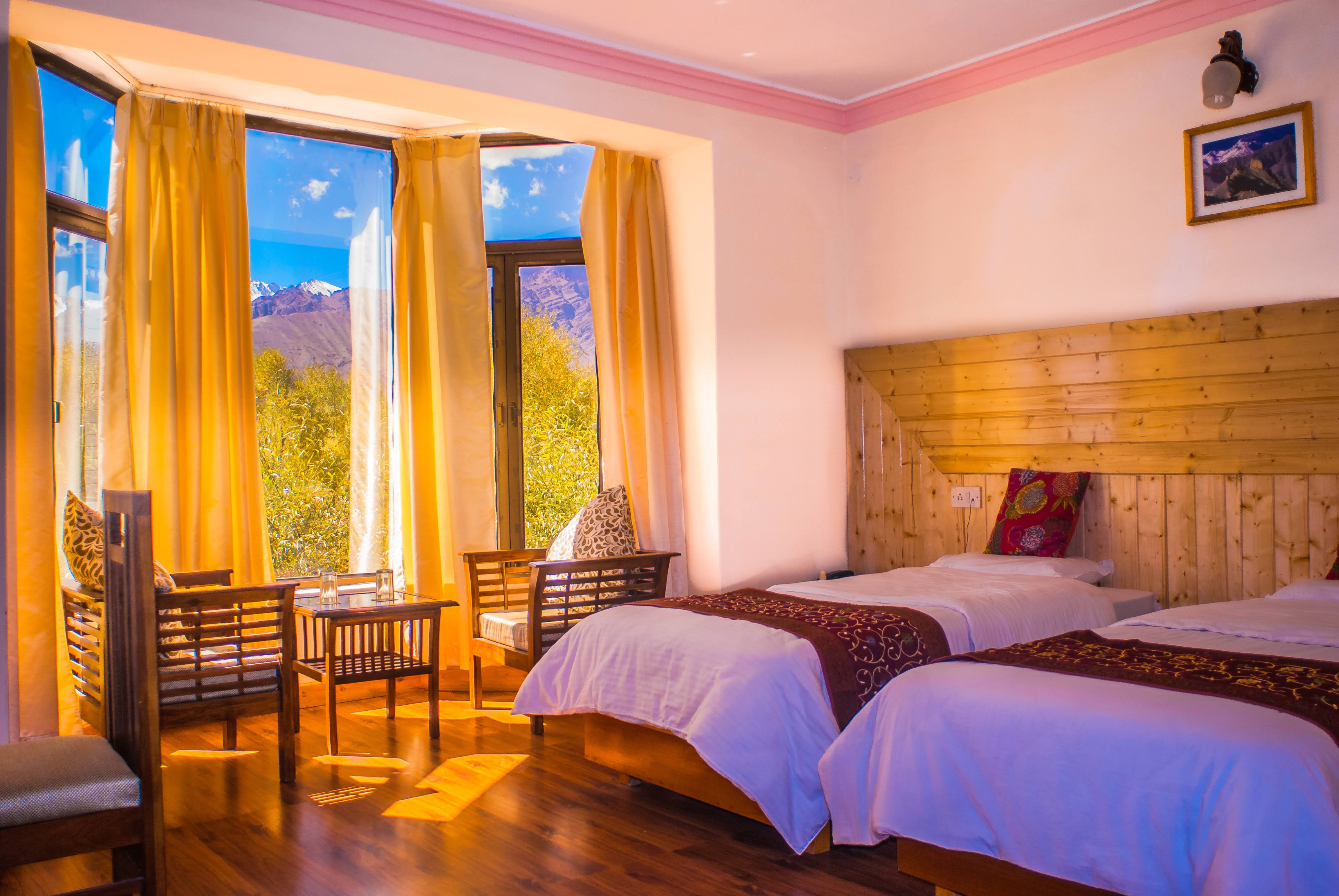 Super Deluxe River & Himalaya View Rooms 2 Hotel Nature Residency Leh Market My Hotel